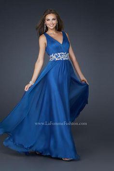 2012 Flowy La Femme Prom Dress 17524