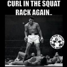 Gym humor; but seriously get out of my squat rack!