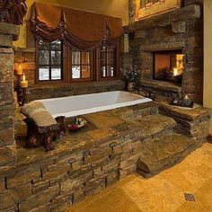 Rustic Bathroom Idea 2
