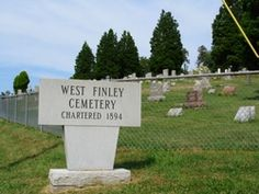 West Finley Cemetery  West Finley  Washington County  Pennsylvania  USA