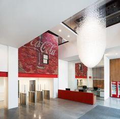 La oficina de Coca Cola en Londres