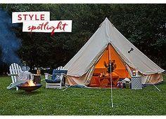 Meriwether Tent, Slate   Set the Scene   One Kings Lane