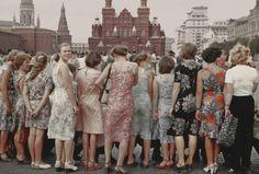 Boris Savelev - Red square girls 1981 Moscow
