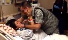 """[VIDEO] U.S. Airman Surprises Pregnant Wife Just in Time for Birth  