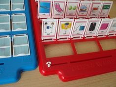 Guess Who! Articulation Game inserts - 11 game sets. Repinned by SOS Inc. Resources pinterest.com/sostherapy/.