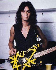 Edward Van Halen backstage, 1979