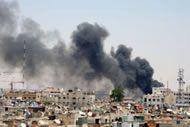 Al menos 18 palestinos mueren a manos de las fuerzas de seguridad sirias