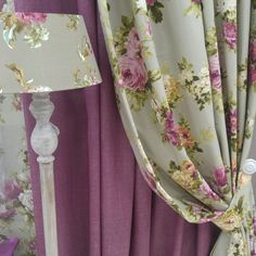 Curtain color ideas for the living room, kitchen and bedroom. Bold and bright colorful modern curtains. Different pattern ideas. Modern Curtains, Colorful Curtains, Curtain Fabric, Drapes Curtains, Curtains Living, Curtain Rods, Shabby Chic Living Room, Shabby Chic Bedrooms, Trendy Bedroom