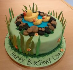 Eat the cake! - Duck Pond
