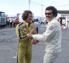 Richard Petty was cooler than anyone, especially Dale Earnhardt..... if it wasnt for petty , dale wouldnt of been half the driver he was, petty gave him his start test driving his cars  too bad pettys attitude and personality didnt rub off onto dale