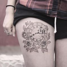 First session of this Peter Pan clock for Melynda
