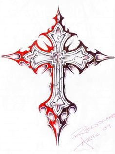 Gothic Cross Drawing Jewellery Ideas Celti regarding measurements 986 X 1439 Gothic Crosses Tattoos - In today's world almost everyone understands Tribal Cross Tattoos, Celtic Cross Tattoos, Cross Tattoo Designs, Celtic Art, Cross Designs, 1 Tattoo, Tattoo Drawings, Body Art Tattoos, Sleeve Tattoos