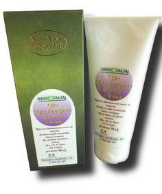 olio di argan bio latte detergente