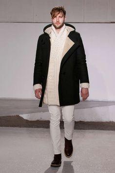 The Maison Martin Margiela 2013 F/W Collection is Lavish #coats #mensfashion trendhunter.com