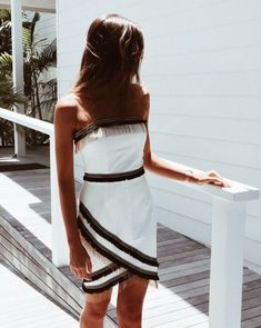 This Collection is inspired by the jet-set girl, wild at heart and living for amazing fashion and endless adventures. Spring Summer 2018, Women's Summer Fashion, Fashion Outfits, Womens Fashion, One Shoulder, Poses, Clothes, Collection, Mini