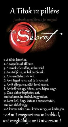 A Titok 12 pillére Rhonda Byrne Rhonda Byrne, Motivational Quotes, Inspirational Quotes, How To Gain Confidence, Inspiring Things, Positive Thoughts, Law Of Attraction, Good To Know, Quotations