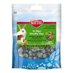 Nice Kaytee Fiesta Blueberry and Strawberry Flavor Yogurt Dipped Timothy Hay for Small Animals, 2.5-oz bag $ Check more at https://netherlanddwarfbunny.com/p/kaytee-fiesta-blueberry-and-strawberry-flavor-yogurt-dipped-timothy-hay-for-small-animals-2-5-oz-bag/ #dwarf #dwarfbunny #netherlanddwarf #netherlanddwarfbunny #bunny #bunnycare