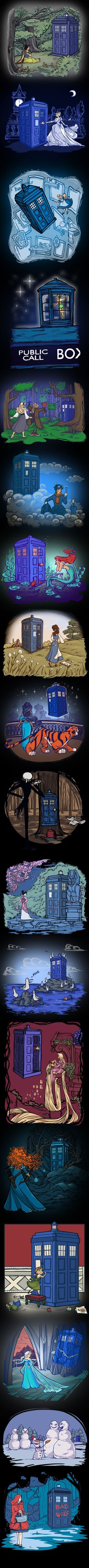 Disney meets the Tardis
