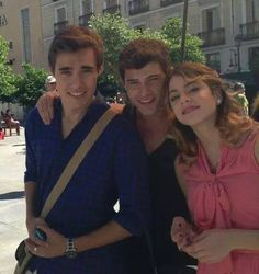 Los chicos en Madrid ♥