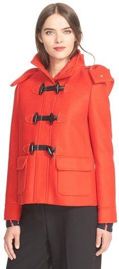 Kate Spade New York Hooded Wool Coat