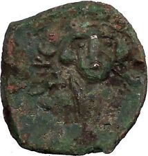 CONSTANS II 641AD Follis Syracuse Sicily Ancient Medieval Byzantine Coin i54787