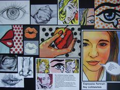 Cubism/Post-Impressionism/Pop Art Portraits. Great Annotated Notes. Excellent Resource.