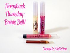 Cosmetic Addiction: Throwback Thursday: Bonne Bell! A few of my former…                                                                                                                                                                                 More