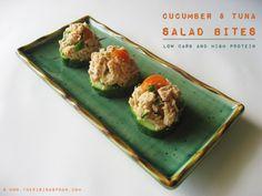 Monthly Veg-ucation: Organic Cucumber and Tuna Salad Bites