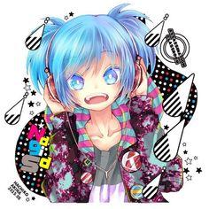 Awesome Anime, Anime Love, Anime Chibi, Anime Art, Nagisa X Kayano, Koro Sensei, Kaai Yuki, Nagisa Shiota, Blue Anime
