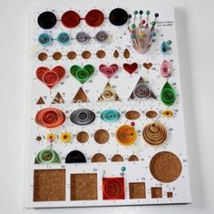 Quilling workboard for scrapbooking Design board Quilling tool diy craft Neli Quilling, Paper Quilling Flowers, Paper Quilling Tutorial, Paper Quilling Jewelry, Paper Quilling Patterns, Origami And Quilling, Quilled Paper Art, Quilling Paper Craft, Paper Crafts