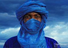 "Africa | ""Tuareg Azul"".  Timbuktu, Mali | ©Teo Tarras."