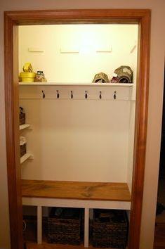 Farm Gal Designs: Mudroom Closet - interiors-designed.com