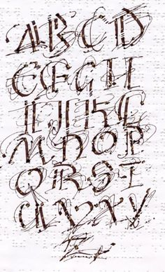 Calligraphy on Braille Paper - Thea Lynn Paul
