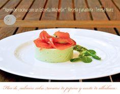 """Receta ganadora del reto """"Aprende cocina con un estrella michelín"""" www.laimaginadora.com"""