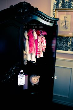 Armoire in baby's room