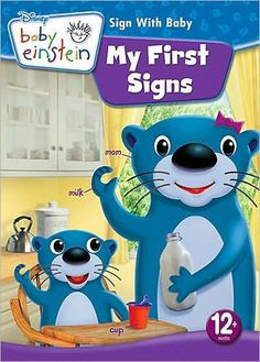 Baby Einstein: My First Signs (DVD, for sale online Sign Language For Toddlers, Learn Sign Language, British Sign Language, Baby Sign Language, Teaching Kids, Kids Learning, Marlee Matlin, Mom Milk, Signs For Mom