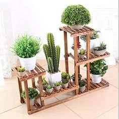 Modern Plant Stand, Wood Plant Stand, Plant Stands, Planter Box Plans, Planter Boxes, Woodworking Wood, Woodworking Projects, Garden Design, House Design