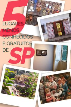 Descubra 5 lugares pouco conhecidos, gratuitos e obrigatórios em São Paulo!