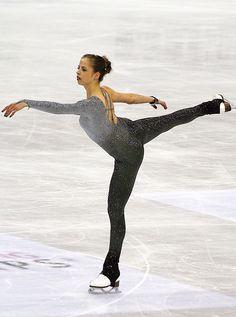 Carolina Kostner, stella del pattinaggio sul ghiaccio