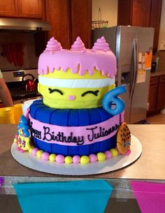 Bolo Shopkins Cake.06