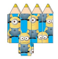 Minions Despicable Me, Room Organization, Paper Dolls, Party Supplies, Wraps, Paper Crafts, Gift Wrapping, Clip Art, Kids Rugs