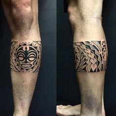 Do you like this tattoo? Leg Band Tattoos, Body Art Tattoos, Tribal Tattoos, Tatoos, Filipino Tattoos, Polynesian Tattoos, Tiki Tattoo, Tattoo Maori, Tribal Armband
