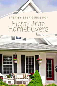 First-time homebuyers need to crunch a lot of numbers before choosing a lender and a home.