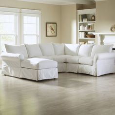 "Ilana 119"" Down Blend Sectional Sofa & Reviews 