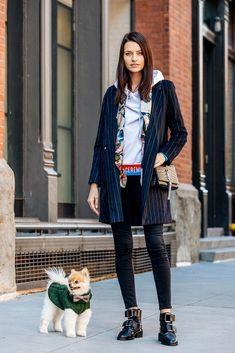 Street Looks, Street Style, Moda Animal, Fashion Mode, Womens Fashion, Models Off Duty, Animal Fashion, Kylie Jenner, Autumn Fashion