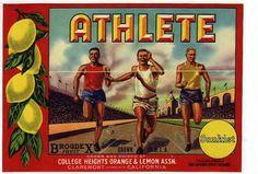 Athlete brand.