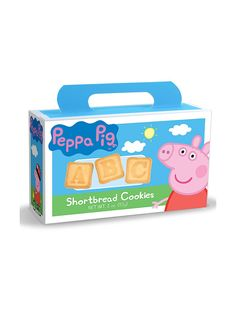 Peppa Pig 2oz. Box Alphabet Crackers - Other Favors and Individual Party Supplies