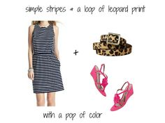 The Beginner's Guide to Pattern Mixing: Stripes & Leopard Print #howtomixpatterns