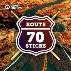 Route Seventy Sticks RSVS 72 70s Blues SM 18 FULL MIX by drumdrops, via SoundCloud.