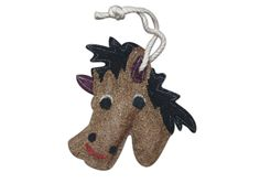 This Loofah-Art Horse scrubber has been really popular all across the country...yippee!!  You can get one on:  www.amazon.com/shops/LOOFAH-ART